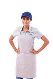 Confident asian female worker or employer Stock Images