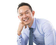 Confident Asian man Royalty Free Stock Images