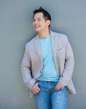 Confident asian man smiling Royalty Free Stock Photography