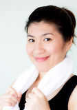 Confident asian woman Royalty Free Stock Photo