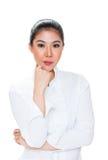 confident asian woman Stock Photo