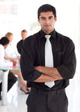 Confident and attractive business leader Royalty Free Stock Photo