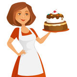 Confident Baker Royalty Free Stock Images