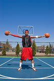 Confident Basketball Player Stock Photos