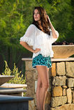 Confident beautiful brunette fashion model Stock Images