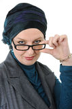 Confident and beautiful   Muslim woman Stock Photo