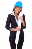 African American woman architect Stock Images