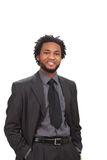 Confident black businessman Stock Photography