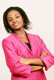 Confident black businesswoman Royalty Free Stock Photography