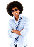 Confident black man Stock Images