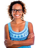 Confident black woman Royalty Free Stock Image