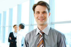 Confident boss Stock Photography