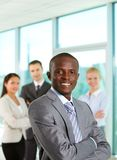 Confident boss Stock Images