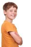 Confident boy Royalty Free Stock Images