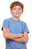 Confident boy Stock Photo
