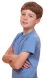 Confident boy Stock Images