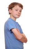 Confident boy Stock Image