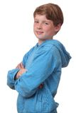 Confident boy royalty free stock photography