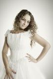 Confident bride Stock Image