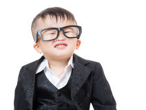 Confident business child Stock Photos