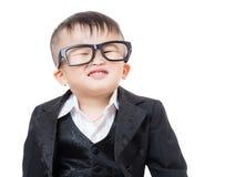 Confident business child Stock Photos