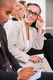 Confident business expert. royalty free stock photos