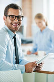 Confident business experts. Stock Image