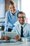 Confident business experts. Stock Photography