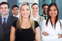 Confident business group stock photos