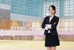Confident business lady Royalty Free Stock Images