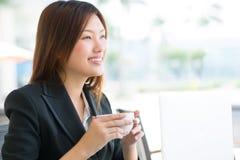 Confident business lady Stock Photos