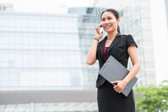 Confident business lady Stock Photography