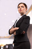 Confident business lady. Royalty Free Stock Image