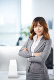 Confident business lady Stock Image