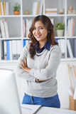 Confident business lady Stock Images