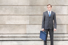 Confident business man Stock Images