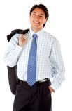 Confident business man Stock Image