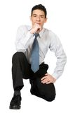 Confident business man Royalty Free Stock Image