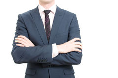 Confident business man Royalty Free Stock Images