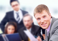 Confident business man Royalty Free Stock Photo
