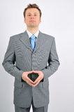 Confident business man. A business man looking confident and self-assured Stock Image