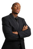 Confident business man with arms crossed Stock Images