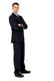 Confident business man - full Stock Image
