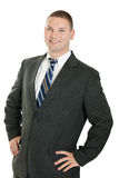 Confident business man portrait Royalty Free Stock Photos