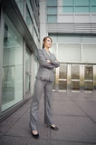 Confident business manager Stock Photography