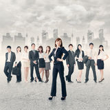 Confident business manager Royalty Free Stock Photography