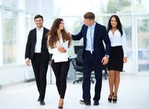 Confident business partners walking Stock Photos