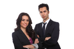 Confident Business People Royalty Free Stock Photography