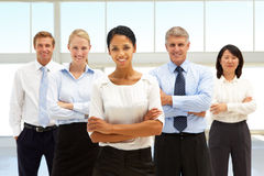 Confident business people Stock Images