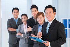 Confident business people Stock Image